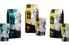 Strong Feminine Coffee Branding