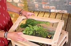 Kitchen Herb-Drying Racks