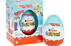 Oversized Toy-Filled Chocolate Eggs