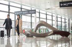 Sculptural Terminal Seats