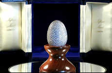 Egg-Shaped Diamond Photo Frames