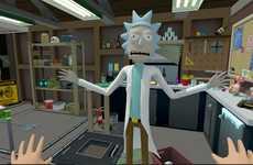 Virtual Reality Sci-Fi Cartoons