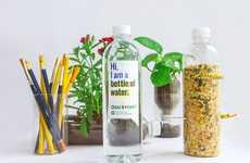 Repurposed Water Bottle Designs