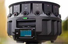 HD 360-Degree VR Cameras