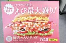 Seafood Salad Sub Sandwiches