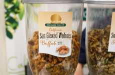 Spicy Glazed Walnuts