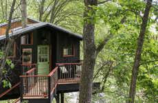 Rustic Treehouse Spas