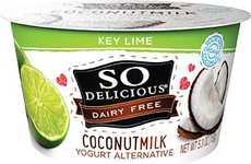 Coconut Key Lime Yogurts