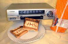 VCRs as Kitchen Appliances