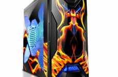 Flaming Computer Cases