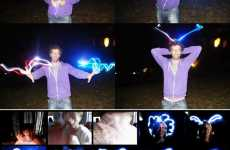 Web Cam Light Graffiti
