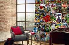 Superhero Wall Murals