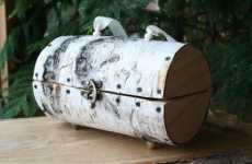 Sawed-Off Log Handbags