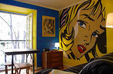 Comic Book Inspired Interiors