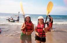 La Jolla Sea Caves Kayak Tour: Trend Hunter Fun Day