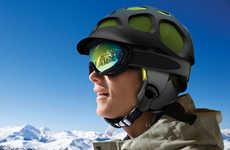 Tortoiseshell Snow Helmets