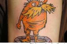 Dr. Seuss Skin Art