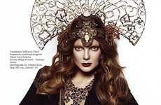 Diamond-Encrusted Headdresses