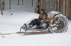 Homemade Snowmobiles