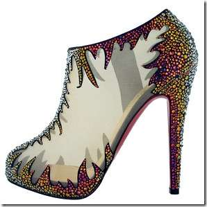 Bedazzled Rainbow Heels