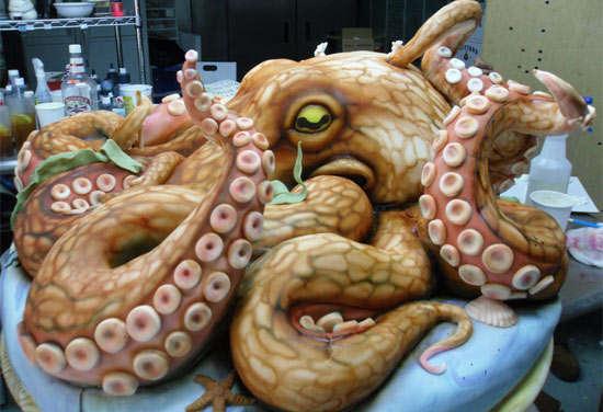 Octopus Cakes