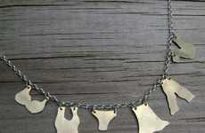 Clothesline Necklaces