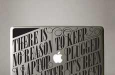 Informative Laptop Decals