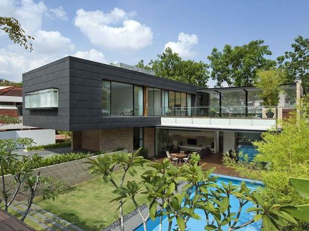 Geometric Brick Homes