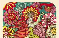 Psychedelic Story Paintings