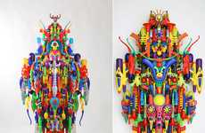 Colorful Toy Sculptures