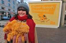 Edible Cheesy Billboards