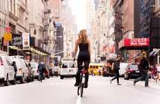 Bicycling Back Shots