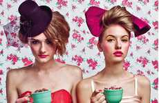 Bold Tea Party Photography