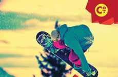 Bold Winter Sports Promotions