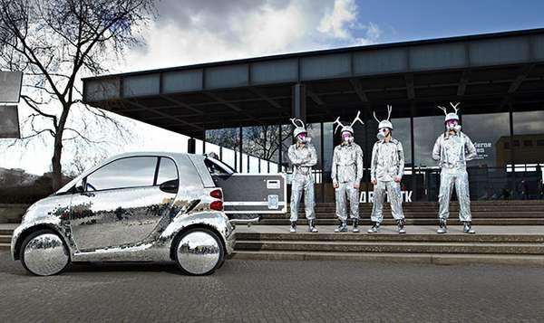 Shimmering Smart Cars