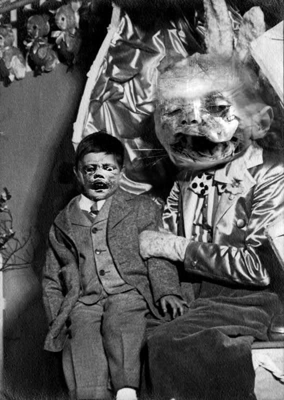 8 Creepy Vintage Ventriloquist Dummies
