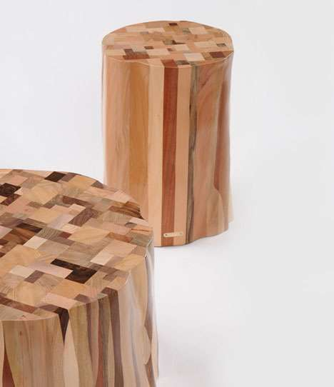 Tree Stump Seats