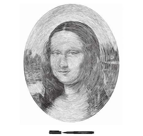 Supreme Spiral Portraits