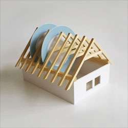House Shaped Dish Rack