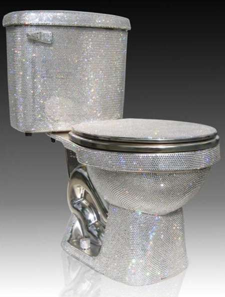 Bejeweled Toilets