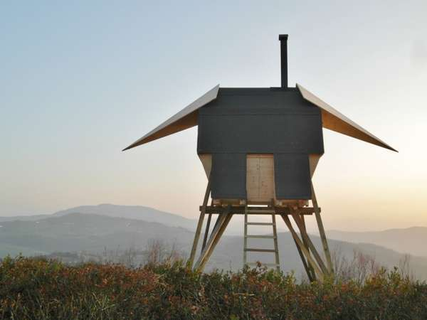 Perched Birdhouse Steamers