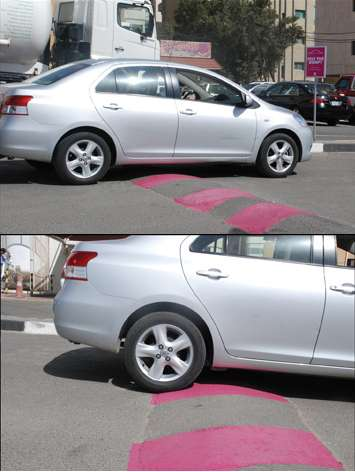Pink Speed Bumps