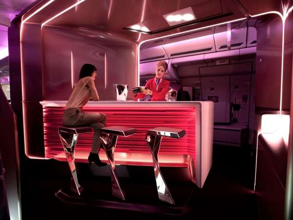 Luxe Airline Lounges