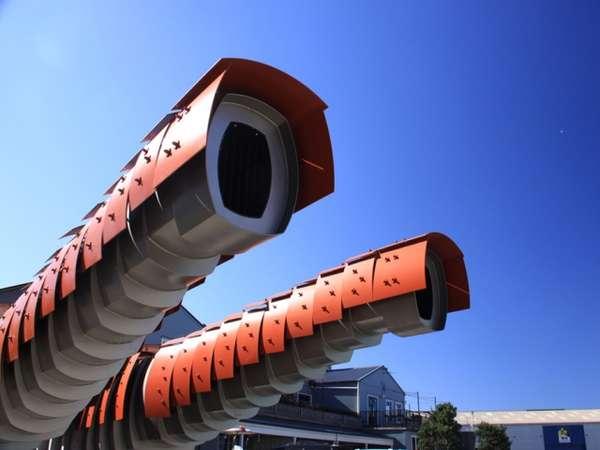 Slug-Inspired Lavatories