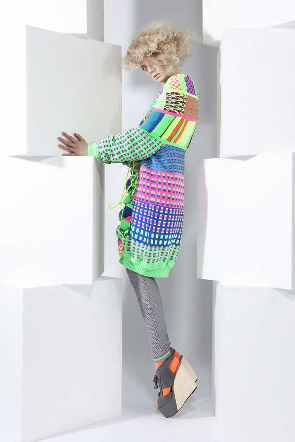 Kaleidoscopic Tourist Knitwear
