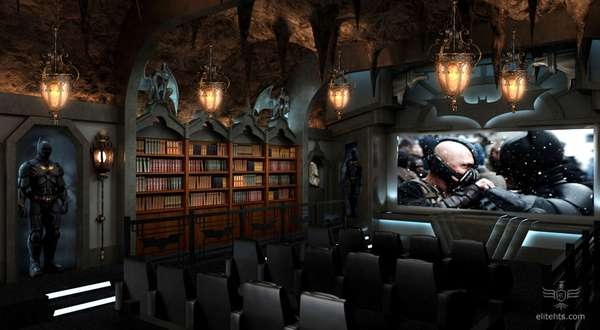 Bat Cave-Inspired Cinemas