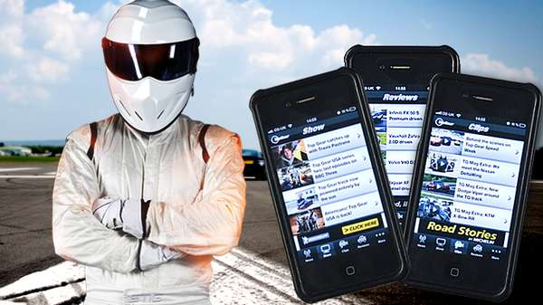 Top Gear launches mobile app