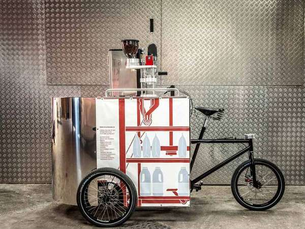 Pedal Powered Cart Serves Up Coffee and Innovation