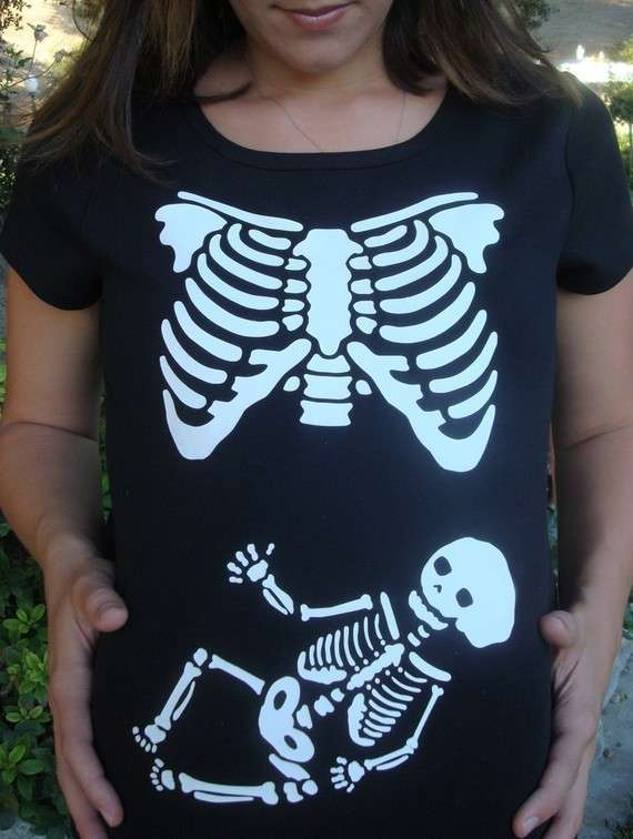 X-Ray Pregnancy Tees