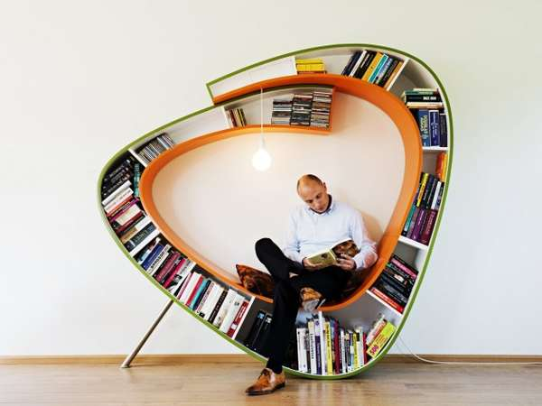 Oval Shelving Chairs